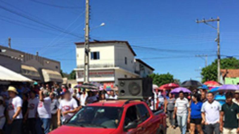 BOTUPORÃ-BA – Manifesto contra as reformas trabalhista e previdenciária