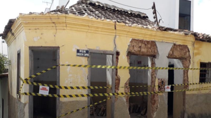 Caetité: Prefeitura impede demolição de imóvel tombado pelo IPAC